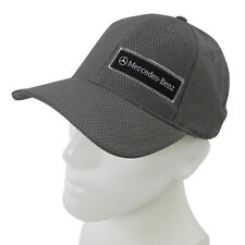 Mercedes-Benz Gray Structured Comby Mesh Baseball Cap