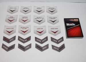 Risk 2008 Game Parts - Cards & Rewards  #RDK08D