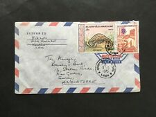 LAOS 1973 COVER TO BARCLAYS BANK KEW GARDENS ENGLAND