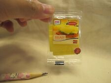 D007 Dollhouse Pack of Sliced Cheese Real kraft migros Miniature supermarket 1:3