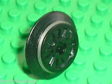 Roue LEGO Wheel for RC Train with rubber 55423 / Set 7939 10219 3977 7938 7898..