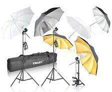 Set De 6 Sombrillas Con 3 Luces Para Iluminacion Para Fotografia Foto Video