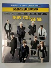 Now You See Me (Blu-ray + DVD + Digital HD/UV) w/ Excellent Condition Slipcover