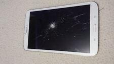 """Tablette Samsung Galaxy Tab 3 16 go 8"""" T310  wifi écran hs blanche"""