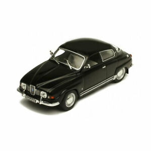 IXO Models CLC333 Saab 96 V4 Black Scale 1:43 Model Car New !°