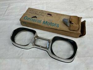 1967 Oldsmobile Cutlass NOS Head Light Bezel New Old Stock Door Lamp Extension