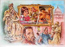 GUINEA 1986 Block 207 A S/S 1000 Intl. Youth Year ovp Michelangelo Art Kunst MNH