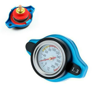 Small Head Car Thermo Thermostatic Radiator Cap Cover Water Temperature Gauge