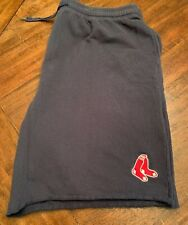 Boston Red Sox 4XLT Sweat Shorts