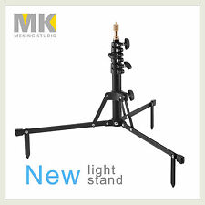 Aluminum Photography 2.8' / 86cm Compact Light Stand with Ground Spikes / Strap