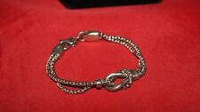Pony Heavy Solid 7 1/2 inches Sterling Silver Bracelet Anklet Tack Equestrian
