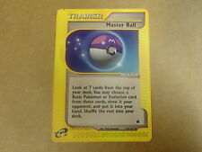 POKEMON CARD / E EXPEDITION 2002. TRAINER: MASTER BALL N° 143/165