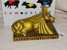 NEW COW PARADE 2001 Egyptian Princess Retired Numbered Ltd Edition Kansas City