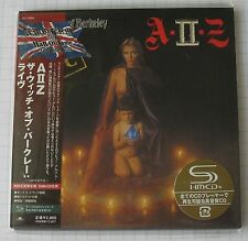 A II Z-Witch of Berkeley GIAPPONE SHM MINI LP CD NUOVO! UICY - 93854 IRON MAIDEN