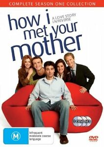 How I Met Your Mother Series 1 DVD Season One First (3 DISC SET) AUST REGION 4