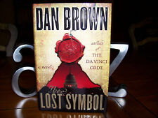 "SIGNED ~ The Lost Symbol by Dan Brown ~ Limited ""Exeter"" Edition ~ 1st/1st"