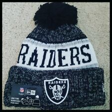 OAKLAND RAIDERS NFL FOOTBALL WINTER BEANIE HAT.