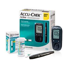 Accu-Chek Active Blood Glucose Monitoring Starter Kit + 10 Test-Strips Roche