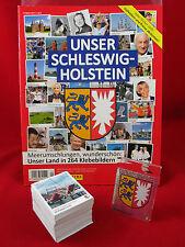 Panini Unser Schleswig-Holstein Satz komplett + Album = alle Sticker + Leeralbum