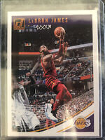 2018-19 PANINI DONRUSS LEBRON JAMES #94 *LOS ANGELES LAKERS Logo/ Cavs Uniform