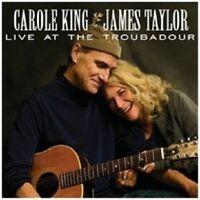 JAMES TAYLOR/CAROLE KING - LIVE AT THE TROUBADOUR  CD  15 TRACKS ROCK & POP NEU