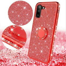 Glitter Bling Magnetic Ring Stand Case Cover For Huawei P30 Lite Y6 2018 Nova 5i