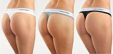 Calvin Klein / Gr. S M L / Tanga / 3er Pack / String Thong