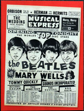 THE BEATLES POSTER PAGE . NME 9 OCT 1964 FRONT COVER NEW MUSICAL EXPRESS . 4O