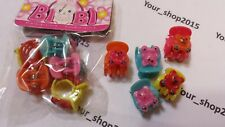 15 Assorted Small mini Teddy Clips Claws Clamps Wedding Party Hair Accessories