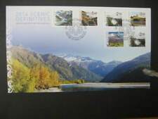 NEW ZEALAND FDC-2014 SCENIC DEFINITIVES  SG 3556/61