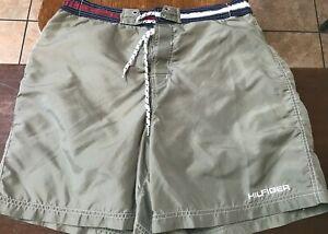men's Tommy Hilfiger board shorts size L (32) green