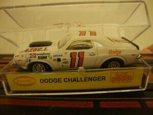 1970 Dodge Challenger  Buddy Baker  #11 HO tjet Slot Car