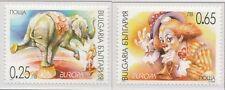 2002 Bulgarije 4550-4551 Europa CEPT - Het Circus