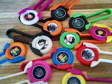 12  TEEN TITANS Disk SHooters~ birthday party favor treat, award, loot bag