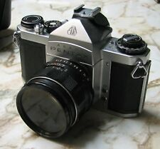 Pentax 35mm SLR - Asahi SV with 4 lenses
