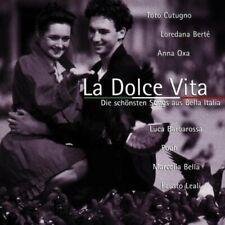 La Dolce Vita (1996) Miguel Bosé, Toto Cutugno, Anna Oxa, Riccardo Fogli..  [CD]