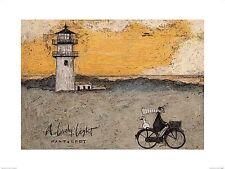 DOG ART PRINT A Lovely Light Nantucket Sam Toft 12x8