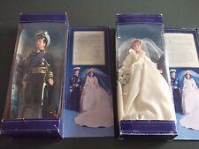 Princess Diana and Prince Charles Vintage Wedding Dolls