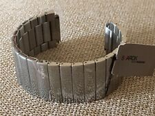 Philippe Starck Fossil Mens Stainless PH5016, Watch Band ONLY, Never Used w/pins
