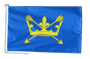 Suffolk Flag With Rope and Toggle - Various Sizes