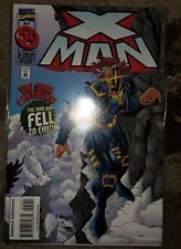 MARVEL COMICS X-MAN THE MAN WHO FELL TO EARTH #5