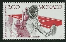 MONACO #1577 MNH VF OG European Games Tennis 1987