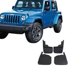 4PCS FOR 2007-2018 Jeep Wrangler Splash Guards Mud Flaps Front & Rear 82210232