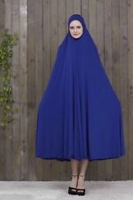 Women Arab Full Cover Jilbab Robe Dress Islamic Muslim Prayer Burqa Abaya Kaftan