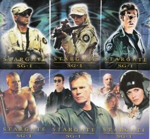 RITTENHOUSE - STARGATE SG-1 SEASON 4 2002 TRADING CARD BASE SET IN POCKET PAGES