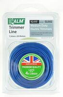 Medium duty Grass Trimmer line / cord 1.5mm x 30 m for electric strimmer