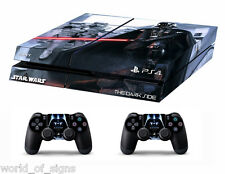 PS4 vinyl Skin Stickers darth vader/star wars style 2 for Console & 2controllers