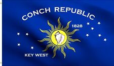 Conch Republic Flag National Key West Banner Polyester 3x5 Country Flags