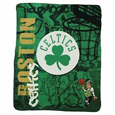 BOSTON CELTICS BLANKET FLEECE THROW NBA HARD KNOCKS 50