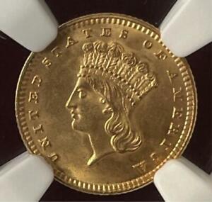 1889 US G$1 NGC MS 66